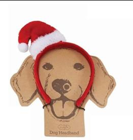 Santa Dog Christmas Headband