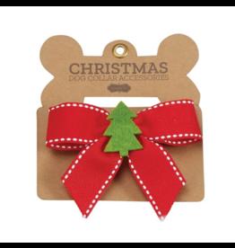 Tree Christmas Dog Bow