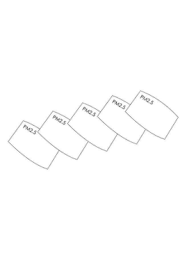 Carbon Replacement Filter 5 Pack