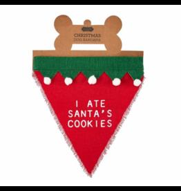 I Ate Santa's Cookies Christmas Bandana