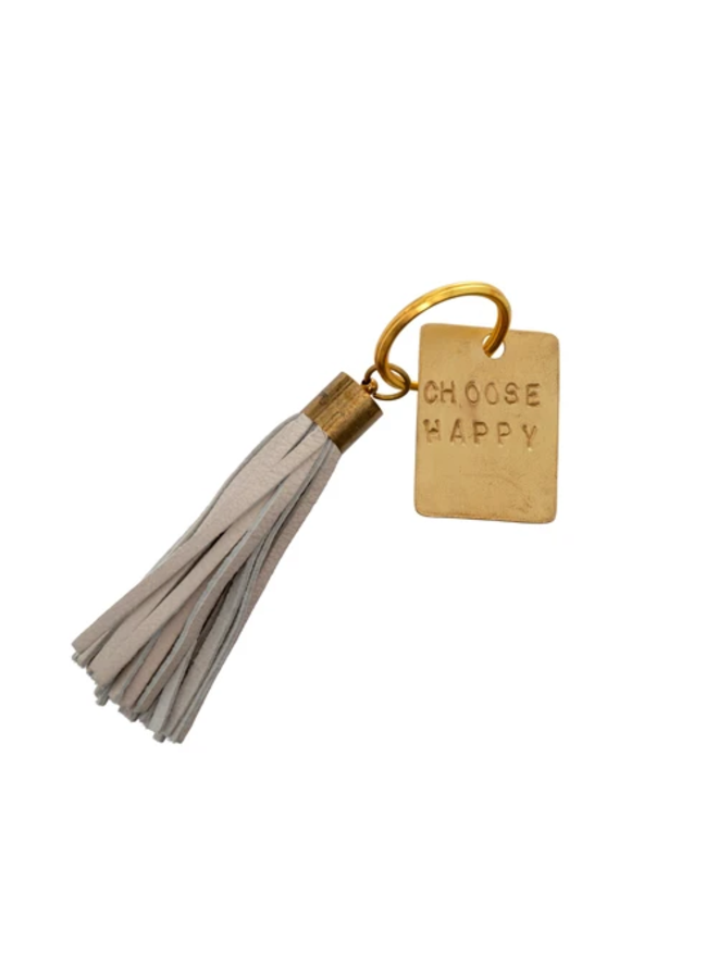 You Got This Leather Keychain