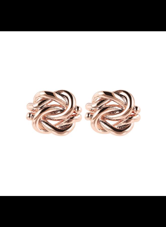 Polished Knot Earrings