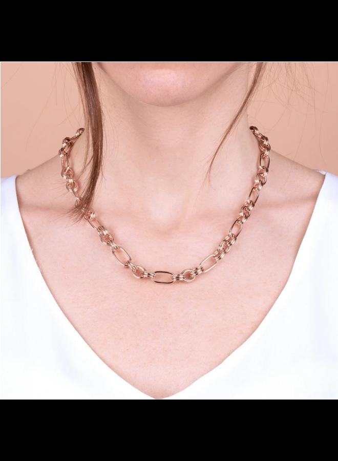 Alternate Oval Link Necklace