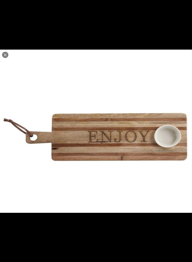 Enjoy Stamped Board Set
