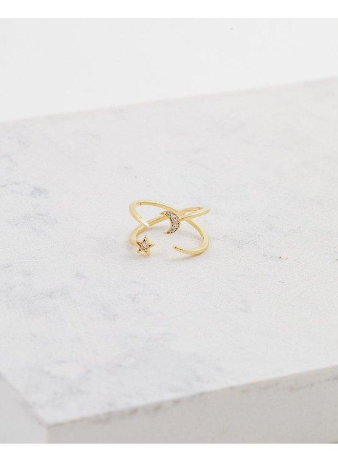 Galaxy Ring Gold
