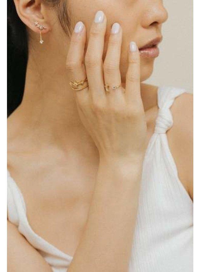 Moonlit Ring Gold