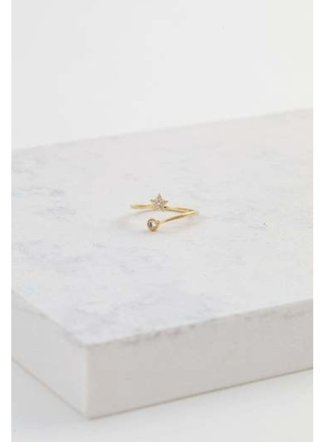 Comet Ring Gold