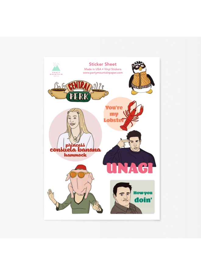 Friends Sticker Pack