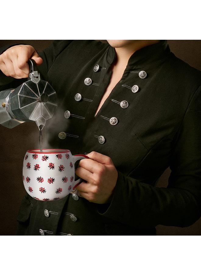 Allover Ladybug Ball Mug