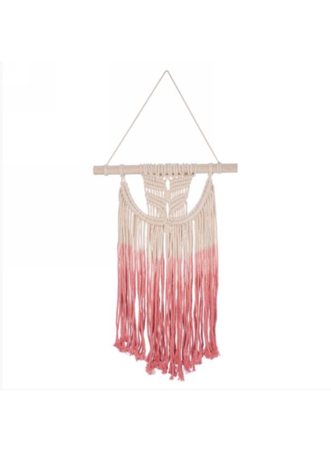 Coral Ombre Wall Hanging