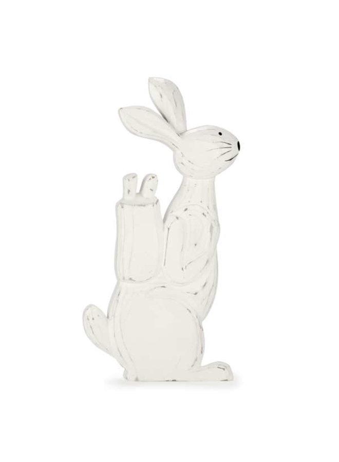 Deco White Rabbit
