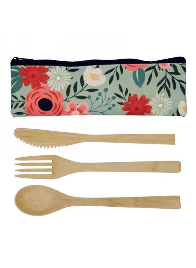 Bamboo Utensils Kit