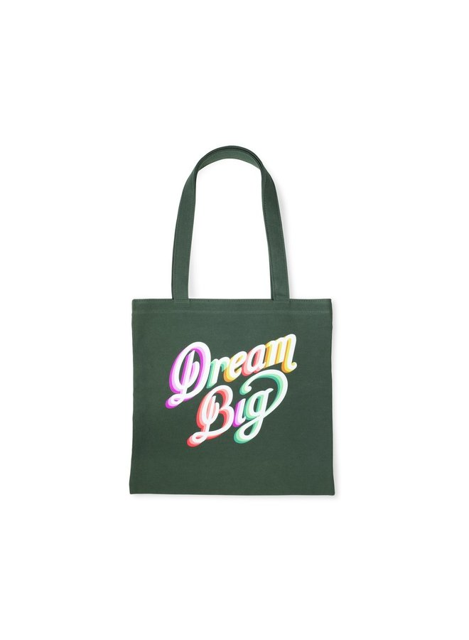 Dream Big Canvas Tote