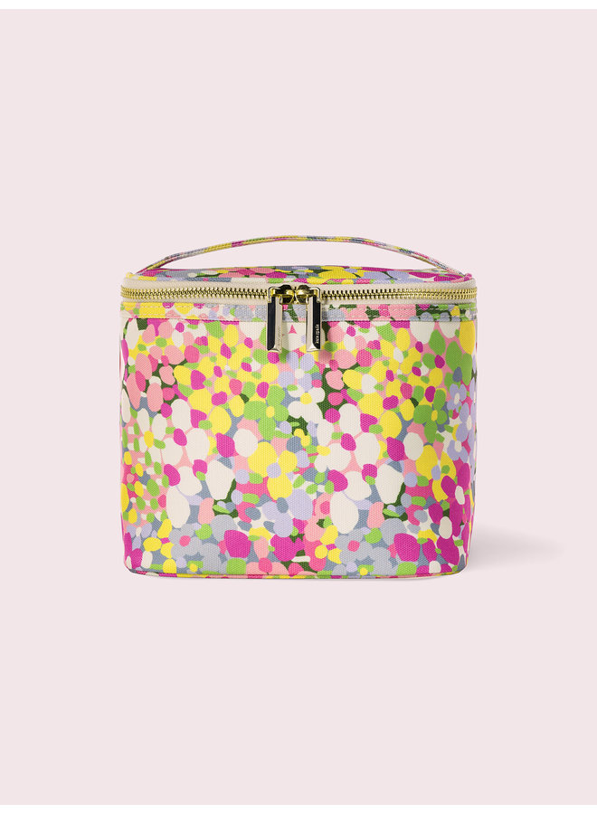 Floral Dot Lunch Tote
