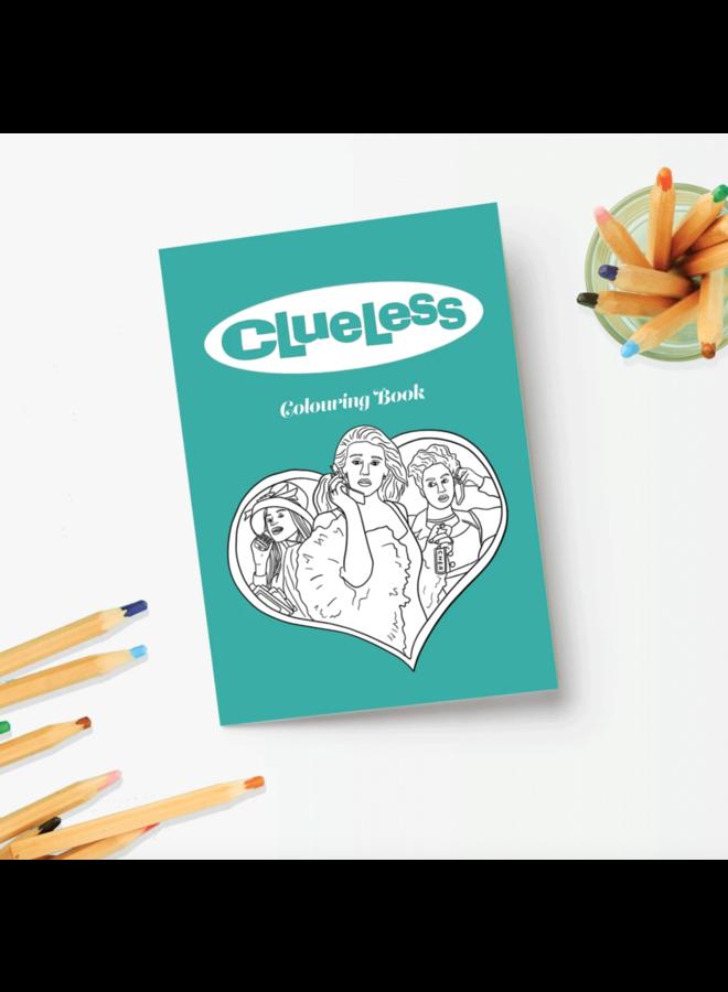 Clueless Colouring Book