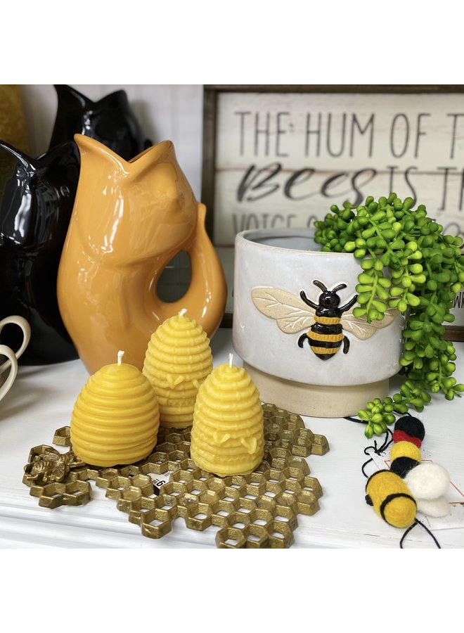130g Bee Hive Candle