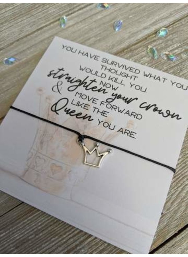 Crown Wish Bracelet