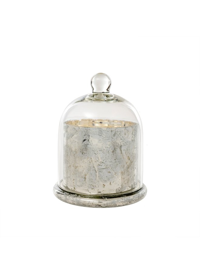 Cloche Candle, Silver Large