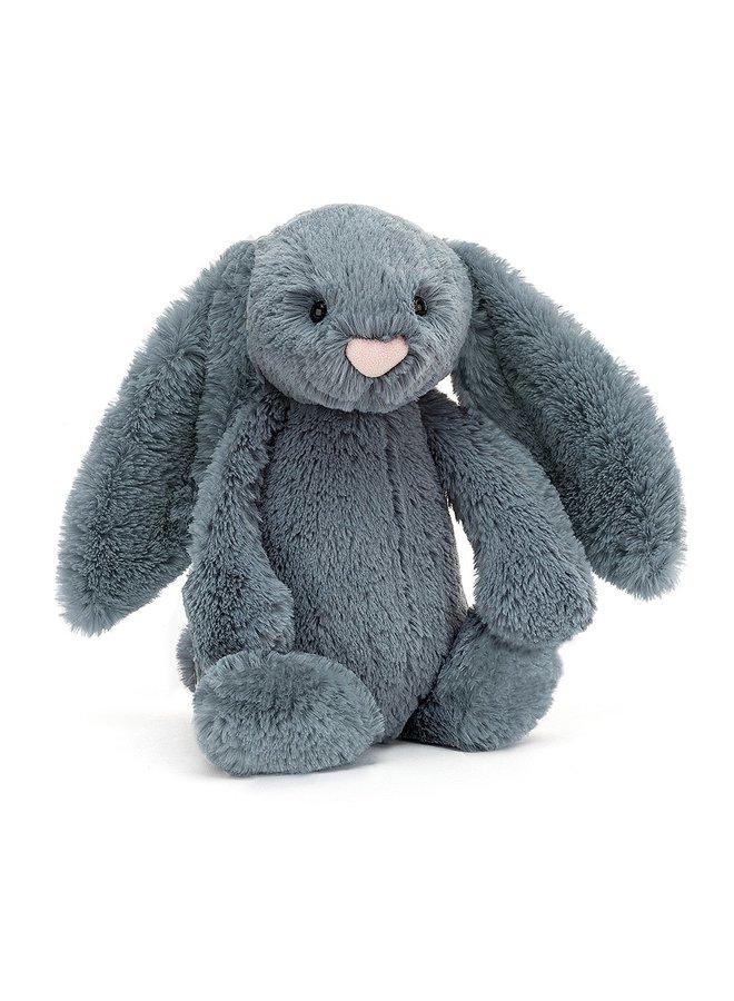 Bashful Medium Dusky Blue Bunny