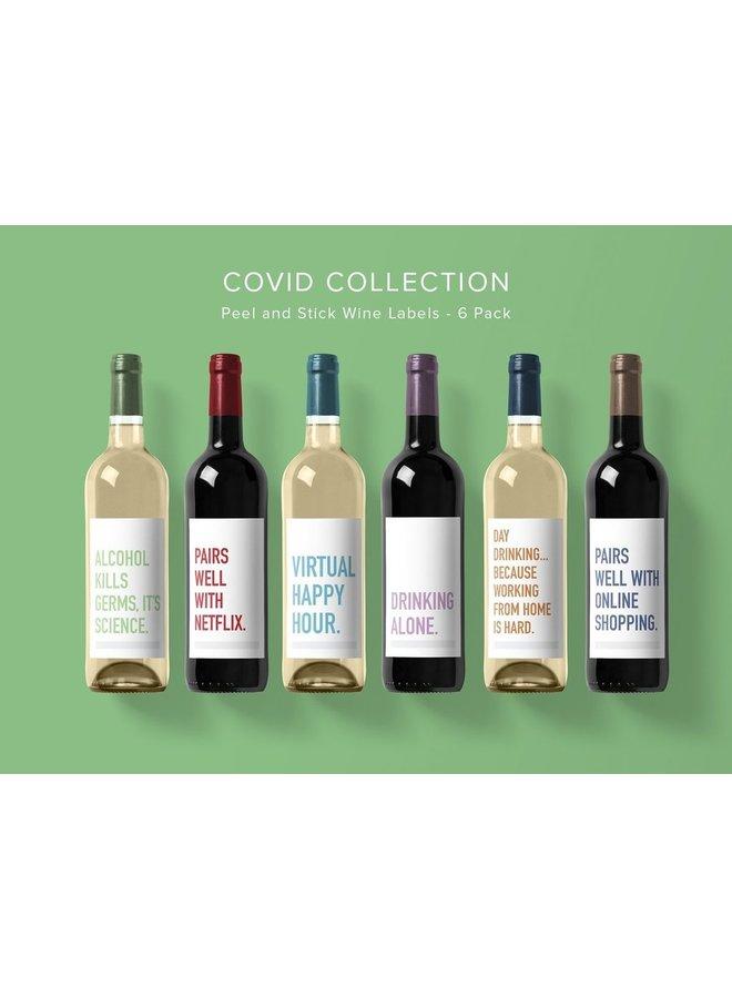 COVID Wine Labels