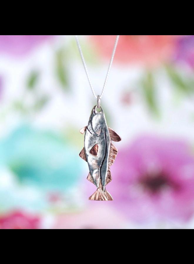 Cod Fish Necklace