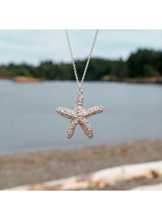 Botanical Beach Pendant Necklace