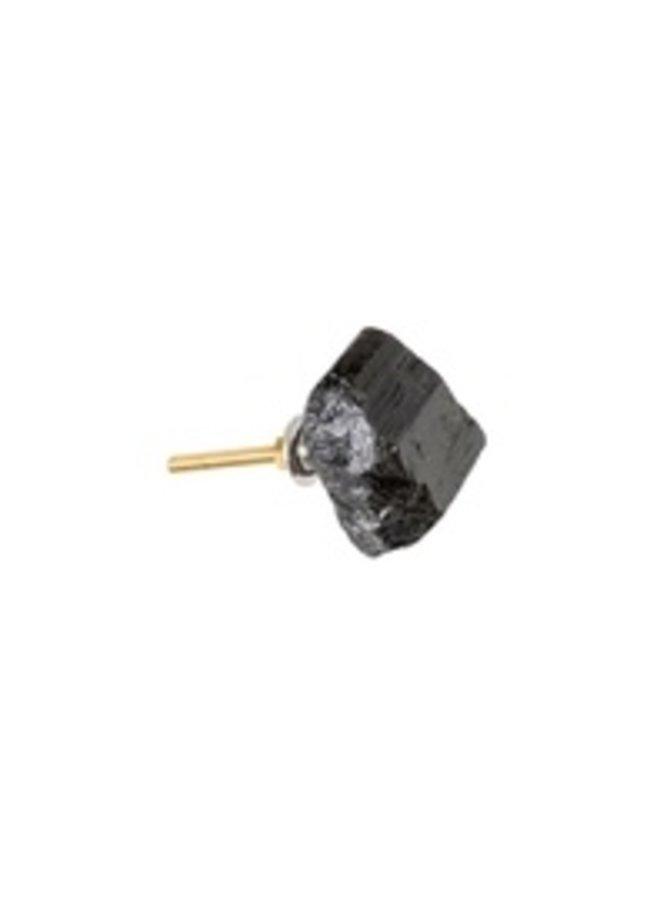 Black Tourmaline Knob