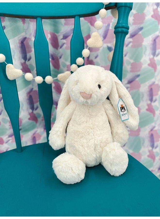 Bashful Medium Cream Bunny