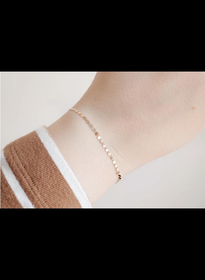 10k Gold Lace Bracelet
