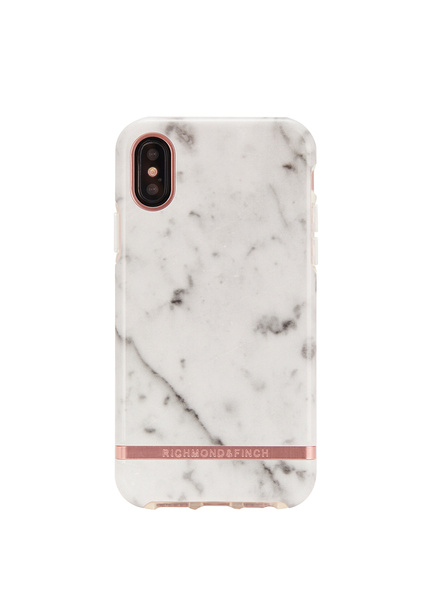 RICHMOND & FINCH RICHMOND & FINCH / iPhone XR (White Marble)