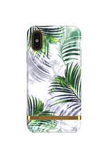 RICHMOND & FINCH RICHMOND & FINCH / White Marble Tropical (iPhone XR)