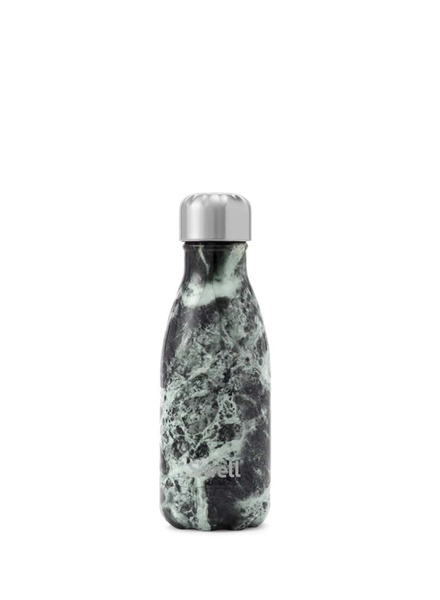 S'WELL Stainless Steel Waterbottle - Elements Collection (Baltic Green Marble, 9oz)