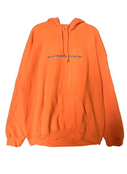 BOYS LIE Boys Lie / What Are You Going To Do Hoodie (Orange)