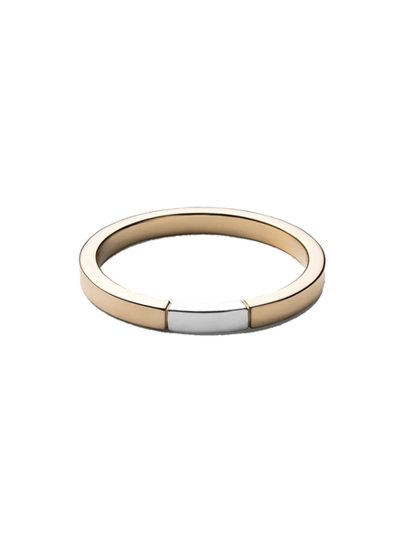 MIANSAI MIANSAI / Panel Ring (Gold/SIlver)