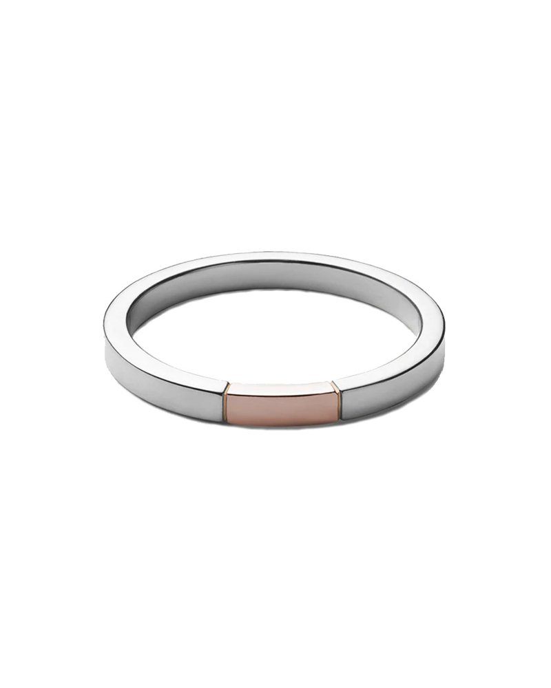 MIANSAI MIANSAI / Panel Ring (Silver/Rose Gold)