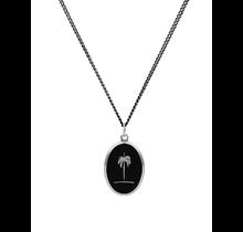 MIANSAI / Palm Tree Pendant Necklace (Sterling Silver, Oxidized)