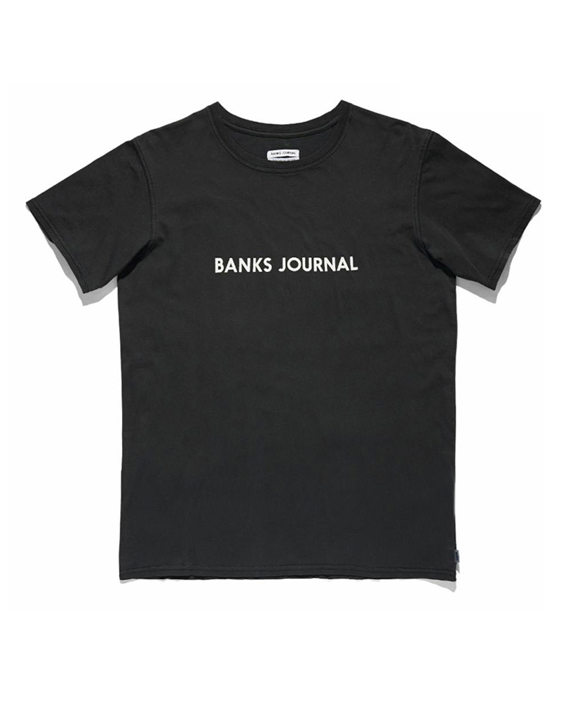 BANKS BANKS / Label Staple - Faded Tee