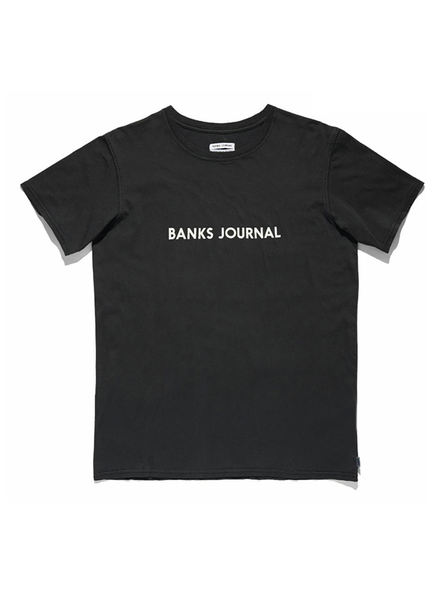 BANKS BANKS / Label Staple Tee