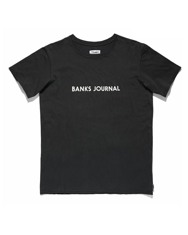 BANKS BANKS / Label Staple Tee