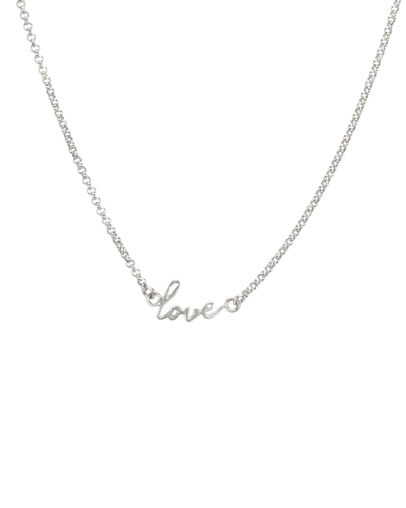 DOGEARED DOGEARED / Do all things with love (Silver, o/s)