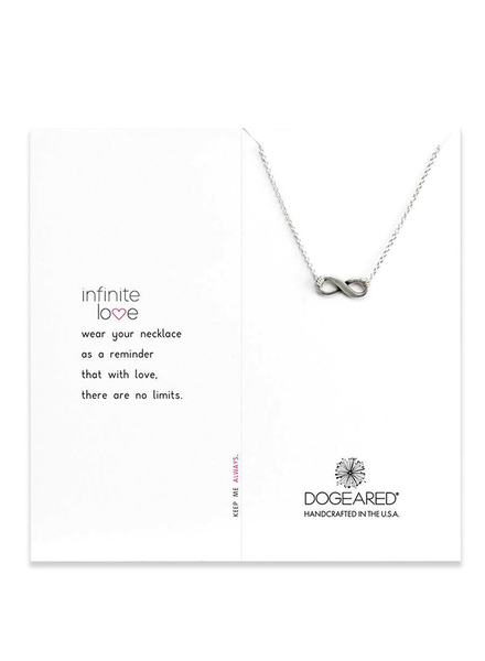 DOGEARED DOGEARED / Infinite Love Necklace (Sterling Silver, o/s)