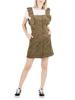 Ruffle Strap Mini Dress