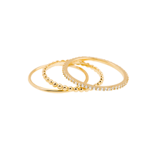 SHASHI / Aura Ring Set