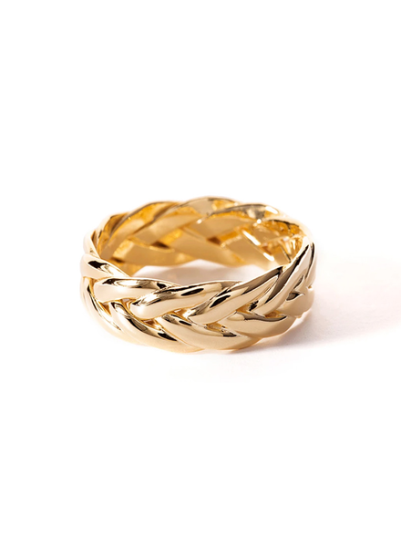 SHASHI SHASHI / French Braid Ring