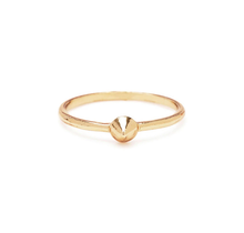 BING BANG / Tiny Vivienne Ring - yellow (14k yellow gold vermeil)
