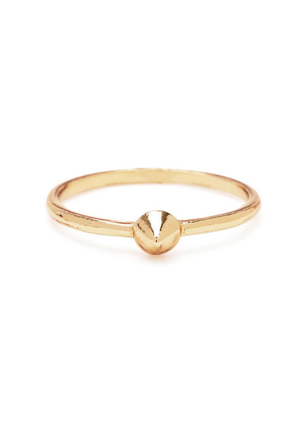 BING BANG BING BANG / Tiny Vivienne Ring - yellow (14k yellow gold vermeil)
