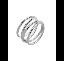 MARIA BLACK / Auguste Wrap Ring (Silver HP)