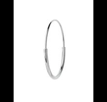 MARIA BLACK / Delicate Hoop 26 Earring (Silver HP)