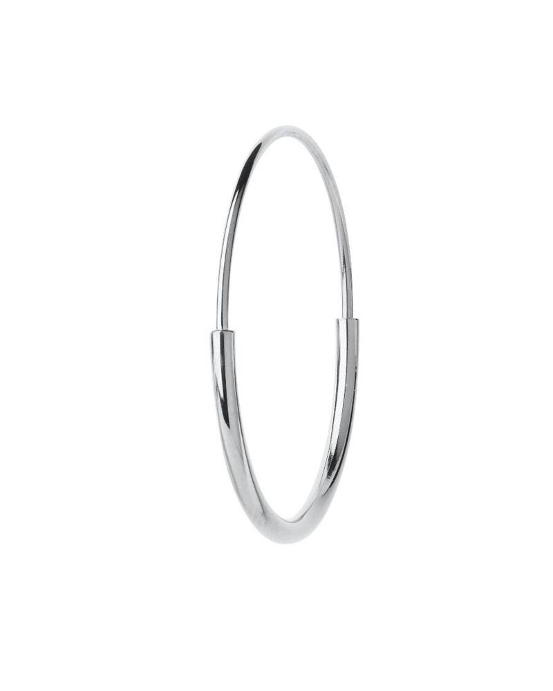 MARIA BLACK MARIA BLACK / Delicate Hoop 26 Earring (Silver HP)