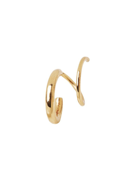 MARIA BLACK MARIA BLACK / Dogma Twirl Earring right (Gold HP, o/s)